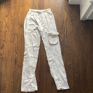 Air India White Draw String Lounge Pants